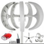 600W  Vertical Axis Wind Turbine Kit + Controller V